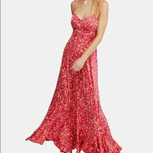 Free People Under the Moonlight Maxi Dress New!
